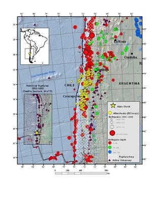 Magnitude 8 8 - OFFSHORE BIO-BIO, CHILE